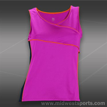 Tail Grand Victory Racerback Wrap Tank -Fuchsia