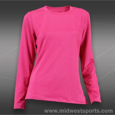 Tail Royal Vibe Long Sleeve Top-Hot Pink