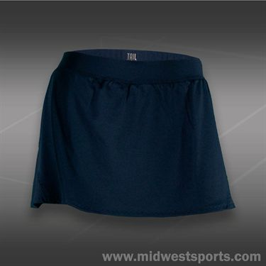 Tail Grand Victory Back Flounce Skirt -Navy