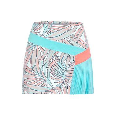 Tail Tahitian Bliss Asymmetrical Pleated Panel Skirt - Palms/Tahiti