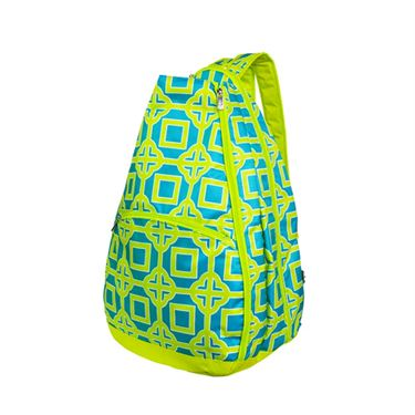 All For Color Lime Charmer Tennis Backpack