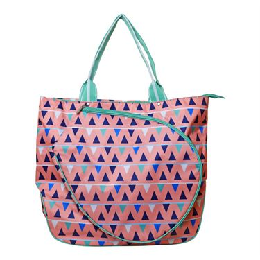 All For Color Sand Castles Tennis Tote