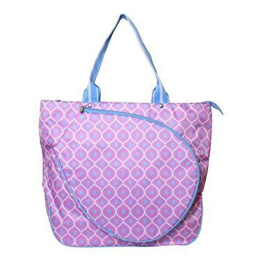 All For Color Good Catch Tennis Tote