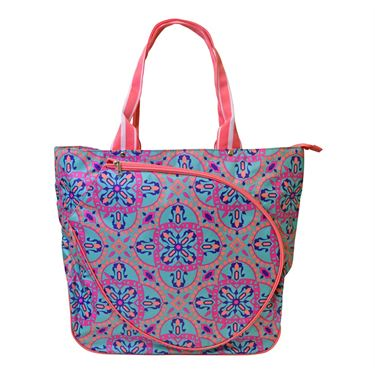 All For Color Spin To Win Tennis Tote