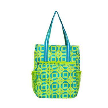 All for Color Lime Charmer Tennis Shoulder Bag