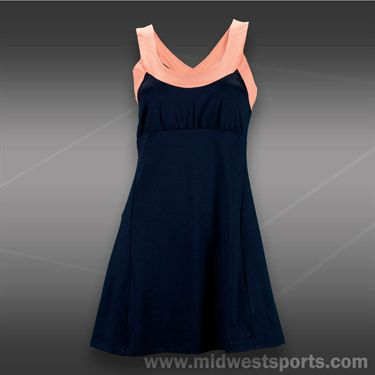 Tail Palmetto Dunes Dress-Navy Blue