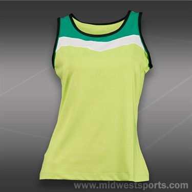 Tail Stadium Ace Classic Tank-Limon Verde
