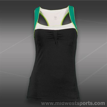 Tail Stadium Ace Racerback Tank-Black