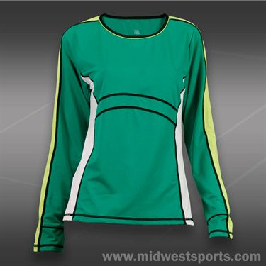 Tail Stadium Ace Longsleeve Top-Emerald