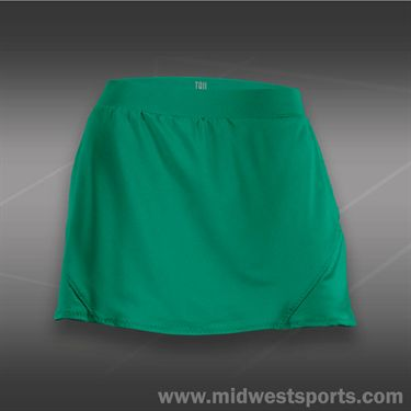 Tail Stadium Ace Back Flounce Skirt-Limon Verde
