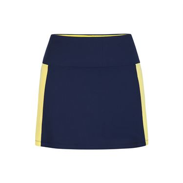 Tail Navy Regatta Color Block A Line Skirt - Navy Blue