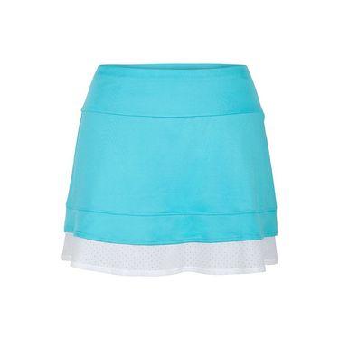 Tail Glistening Tides Bottom Ruffled Skirt - Curacao