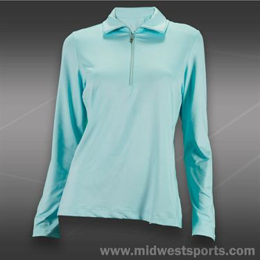 Tail Ocean Front Long Sleeve Top-Merry Blue