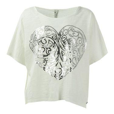 Eleven Epitome Love Heart Tee - White