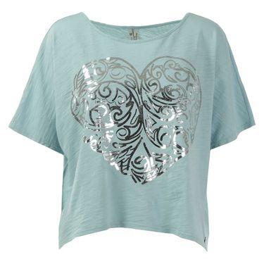 Eleven Epitome Love Heart Tee - Marine Blue