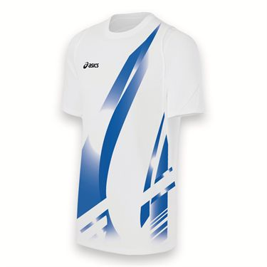Asics Team Put Away Jersey-White/Royal