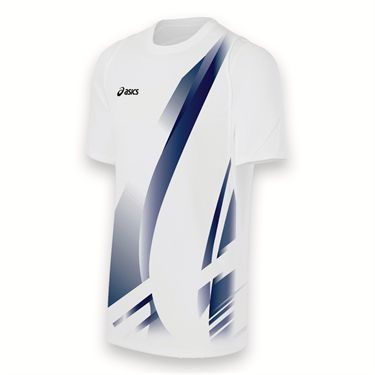 Asics Team Put Away Jersey-White/Navy
