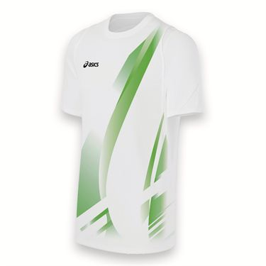 Asics Team Put Away Jersey-White/Lime