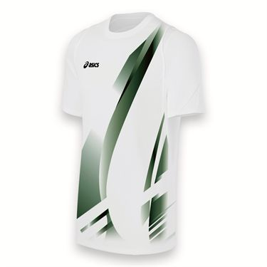 Asics Team Put Away Jersey-White/Black