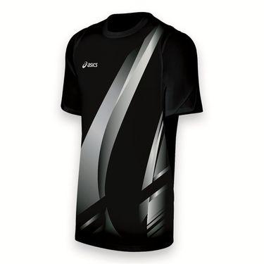 Asics Team Put Away Jersey-Black/White