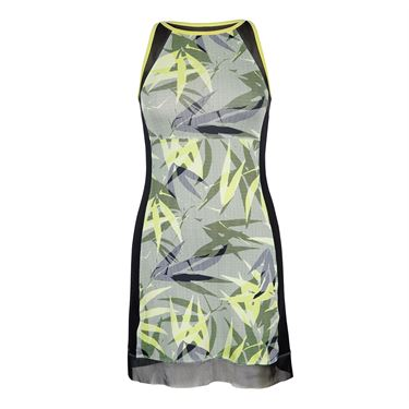Tail Palm Springs Printed Dress - Intrigue Chartreuse