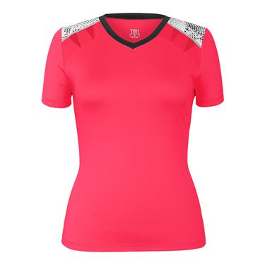 Tail Red Hot Cap Sleeve Top - Aurora