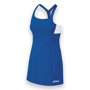 Asics Rally Dress - Royal/White