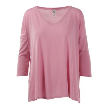 Eleven Epitome Cascade Long Sleeve Top - Cashmere Rose