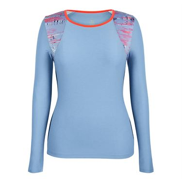 Tail Wisteria Mist Long Sleeve Top - Mist