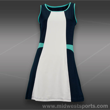 Tail Rip Tide Scoop Neck A-Line Dress