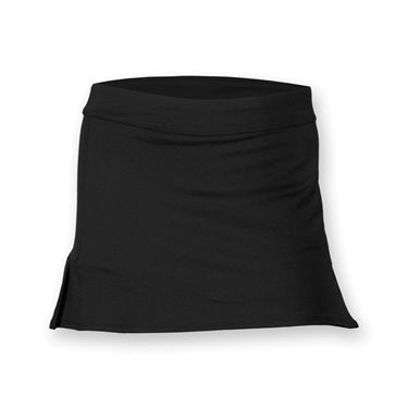 Fila Girls Pleated Back Skirt- Black