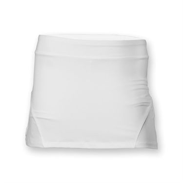 Fila Girls Ruffle Back Skirt- White