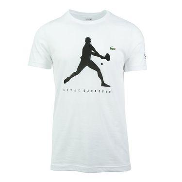 Lacoste Printed Tee Shirt - White