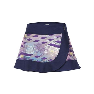 Eleven Thika 14 Inch Reflex Skirt - Blue Nights/Print