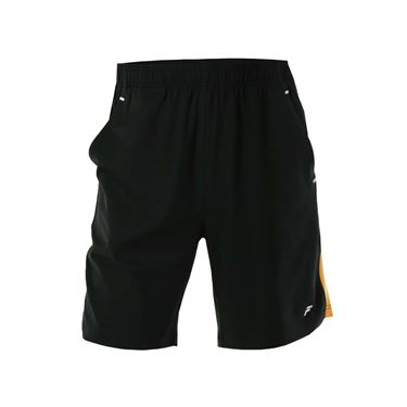 Fila Platinum Short - Black/Orange Pop/White