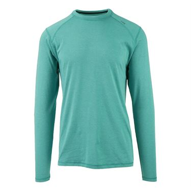Tasc Heathered Carrollton Long Sleeve Tee - Maldives Heather