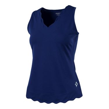 Jofit Napa Scallop Tank - Blue Depth