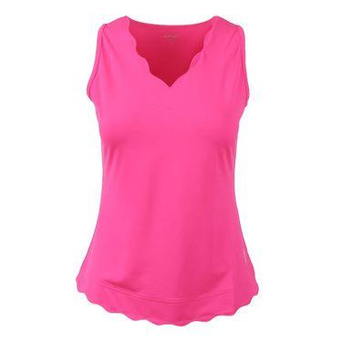Jofit Napa Scallop Tank - Fluorescent Pink