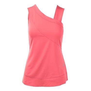 Jofit Cabernet Side Drape Tank - Sherbet Pink