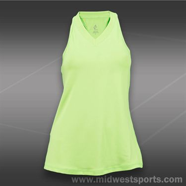 JoFit Islands Jacquard Betsy Tank-Neon Green
