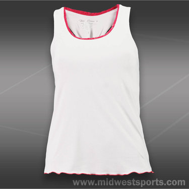 Denise Cronwall Finch Racerback Top -White