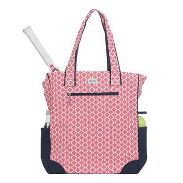 Ame and Lulu Emerson Tennis Tote - Clover Print