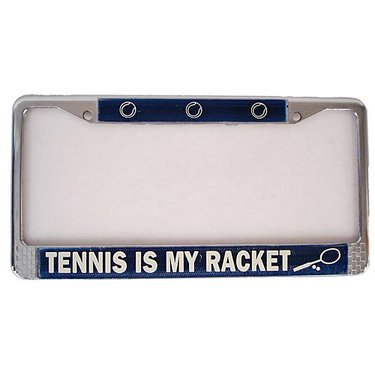 Tennis License Plate Holder - TV31