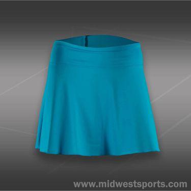 Fila Center Court Long Flirty Skirt-Blue