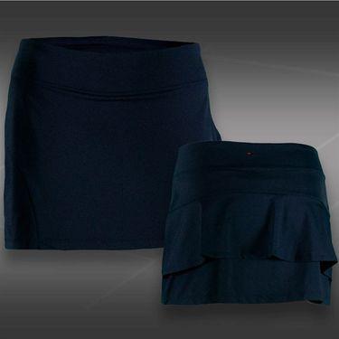Fila Heritage Ruffle Skirt - Peacoat