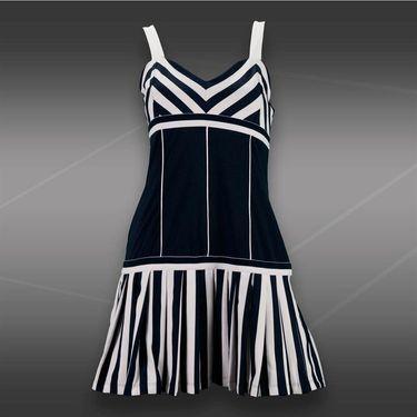 Fila Heritage Stripe Tennis Dress - Peacoat/White