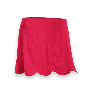 Fila Heritage Scalloped Hem Skirt-Lipstick