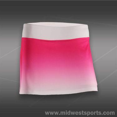 Fila Baseline Skirt-Pink Glow/White