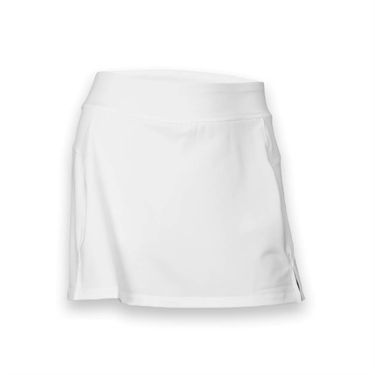 Fila Long Vented Skirt -White