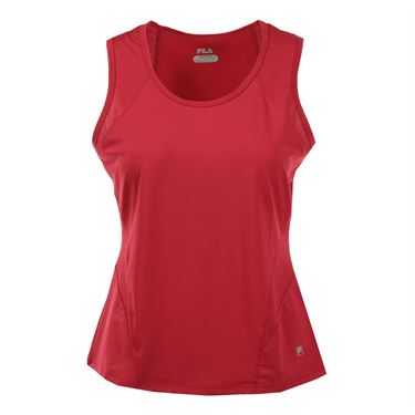 Fila Core Full Coverage Tank - Poppy Red